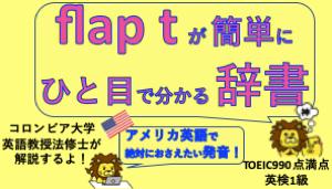 flap tが分かる辞書